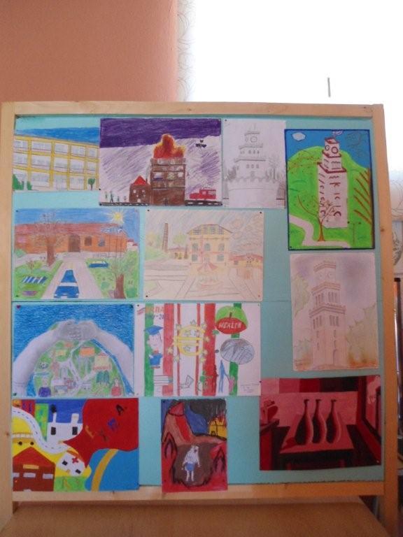 Ζωγραφικά έργα των μαθητών μας